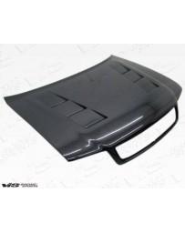 VIS Racing Carbon Fiber Hood Terminator Style for AUDI S4 4DR 98-02