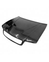 VIS Racing Carbon Fiber Hood Invader Style for AUDI A4 4DR 96-01