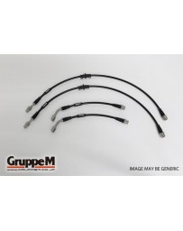 GruppeM ALFA ROMEO 147 3.2 GTA (305 DISC ROTOR) 2003 - 2011 STAINLESS STEEL FITTING (BH-8002S) FRONT & REAR SET