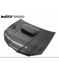 VIS Racing Carbon Fiber Hood STI Style for Subaru WRX 4DR 06-07