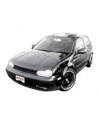 VIS Racing Carbon Fiber Hood Boser Style for Volkswagen Jetta 4DR 99-05