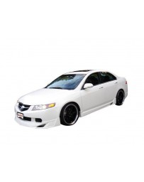 VIS Racing 2004-2005 Acura Tsx 4Dr JPC Full Lip Kit Polyurethane