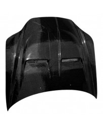 VIS Racing Carbon Fiber Hood Xtreme GT Style for Hyundai Tiburon 2DR 03-06