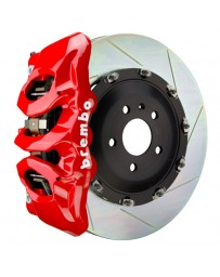 Toyota Supra GR A90 MK5 Brembo GT 380mmx34mm 2-Piece 6-Piston Red Front Slotted Big Brake Kit