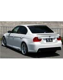 ChargeSpeed Bottom Line FRP Complete Bumper Kit (Japanese FRP) 4 Pieces BMW E90 3-Series 05-08