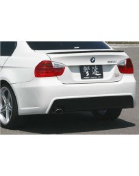 ChargeSpeed FRP Rear Bumper (Japanese FRP) Fit Single Exhaust Only BMW E90 3-Series 05-08