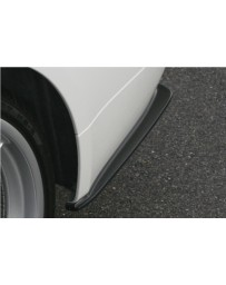 ChargeSpeed Bottom Line FRP Rear Caps (Japanese FRP) BMW E90 3-Series 05-08