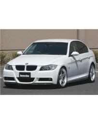ChargeSpeed Bottom Line FRP Full Lip Kit (Japanese FRP) 5 PCS. CS2101FLF, CS2101SSF, CS2101RCF BMW M-Sport E90 3 Series 05-08