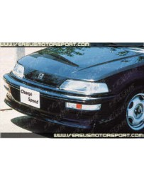 ChargeSpeed Front Spoiler (Japanese FRP) Honda Civic EF9 HB 90-91