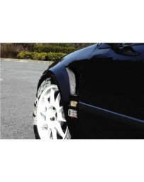 ChargeSpeed D-1 Style 20MM Wide Body Front Fenders (Japanese FRP) Pair Honda Civic EG HB 92-95