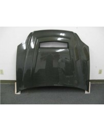 ChargeSpeed Carbon Vented Hood (Japanese CFRP) Open Box - Display Model Honda Civic EK 99-00