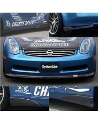 ChargeSpeed Full Cowl Kit FRP 6PCS. CS696FLF, CS695SCFF, CS695SCQF, CS695RCF Infinity G35 Coupe 06-07