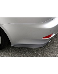 ChargeSpeed Bottom Line Rear Caps Carbon (Japanese CFRP) Pair Lexus IS250/IS350 06-12