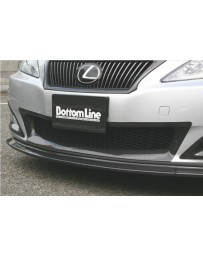 ChargeSpeed Bottom Line Front Bumper Center Cowl FRP (Japanese FRP) Lexus IS250/IS350 09-10