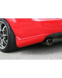 ChargeSpeed Rear Mud Guards Carbon (Japanese CFRP) Mazda Miata 06-10