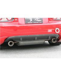 ChargeSpeed Rear Under Fin (Japanese FRP) Mazda Miata 06-10
