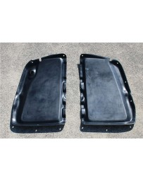 ChargeSpeed Vented Hood Rain Cover in FRP Black (Japanese FRP) Mazda Miata MX5 ND 15-18
