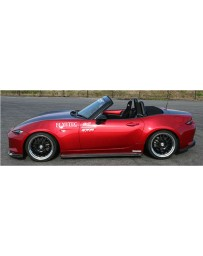 ChargeSpeed Side Skirts FRP (Japanese FRP) Mazda Miata MX5 ND 15-18