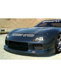 ChargeSpeed Type 2 Front Bumper (Japanese FRP) Mazda RX7 93-04