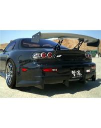 ChargeSpeed Wide Body Full Kit: CS710FB2, CS710SSW, CS710RBW, CS710FF. CS710FR Mazda RX7 93-04