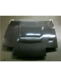 ChargeSpeed Vented Carbon Hood (Japanese CFRP) Nissan 240SX RPS-13 Flip Eye 89-94