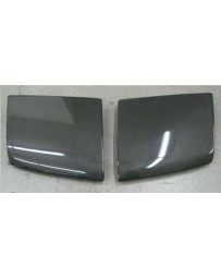 ChargeSpeed Headlight Cover (Japanese CFRP) Pair Nissan 240SX RPS-13 Flip Eye 89-94