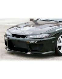ChargeSpeed Type-2 Front Bumper (Japanese FRP) Nissan Silvia S15 99-05