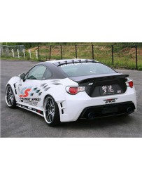 ChargeSpeed Wide Body Type 1 Complete Kit Japanese FRP Carbon Rear Diffuser Not Included Subaru BR-Z ZC-6/ Toyota 86 ZN-6 13-18