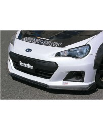 ChargeSpeed Type 2 Bottom Lines Carbon Front Lip (Japanese CFRP) Subaru BR-Z ZC-6 13-16