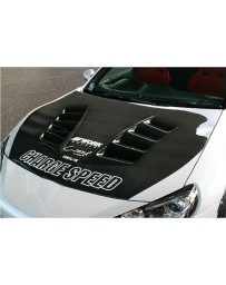 ChargeSpeed Carbon Vented Hood (Japanese CFRP) Subaru BR-Z ZC-6 13-16