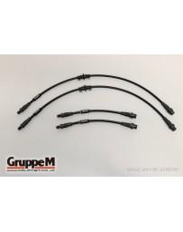 GruppeM PORSCHE 997 3.6 GT3/GT3RS 2007 - 20012 ~ CARBON STEEL FITTING FRONT & REAR SET (BH-1014)