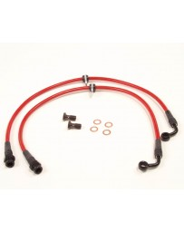 Agency Power Front Steel Braided Brake Lines Acura RSX 02-06