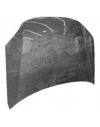 VIS Racing Carbon Fiber Hood OEM Style for Pontiac SunFire 2DR & 4DR 03-05