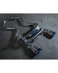 Agency Power Exhaust System w/Titanium Tips BMW M3 Coupe E92 08-13