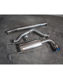 Agency Power Ti Tip Catback Exhaust System Subaru WRX Wagon 08-13