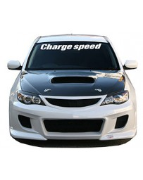 ChargeSpeed Type-1 Front Bumper (Japanese FRP) Subaru All Impreza 4Doors Sedan 5Doors HB 08-10