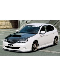 ChargeSpeed Bottom Lines Type 1 Carbon Full Lip Kit (Japanese CFRP) CS979FL1CN, CS979SSCN, CS979RC1CN Subaru WRX 08-10