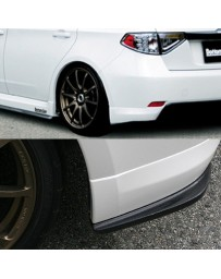 ChargeSpeed Bottom Lines Rear Caps Carbon (Japanese CFRP) Subaru WRX NON-STi GH8 08-10