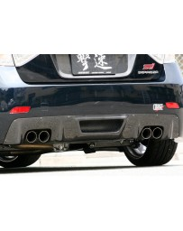 ChargeSpeed Carbon Under Diffuser For Charge Speed Rear Bumper STi ONLY (Japanese CFRP) Subaru Impreza GR-B 08-14