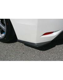 ChargeSpeed Carbon Bottom Line Rear Caps (CFRP) Pair Subaru Impreza GP 5 Doors 12-15