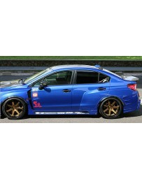 ChargeSpeed Type-2A Complete Wide Body Kit with Front Carbon Under Part (Japanese CFRP/ FRP) Subaru WRX STi 15-19