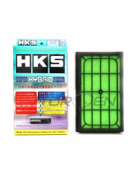 370z HKS Super Hybrid Filter, 2 Piece Set