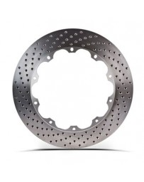 350z Stoptech Aero Rotor Replacement Rear Disc with Hardware, RH Drilled