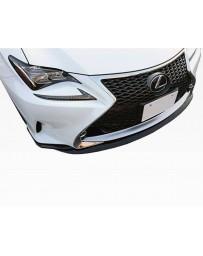 VIS Racing 2015-2016 Lexus RC F Sport VIP Style Carbon Fiber Front Lip