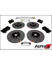 Nissan R35 GT-R Carbon Ceramic Brake Kit Upgrade 393/380 2012+ DBA