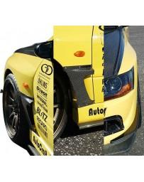 Varis Carbon Fiber Wide Fenders EVO VIII