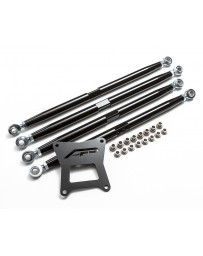 Agency Power Adjustable Rear Radius Arms Black Polaris RZR 1000 RS1 XP Turbo RS1 RS1