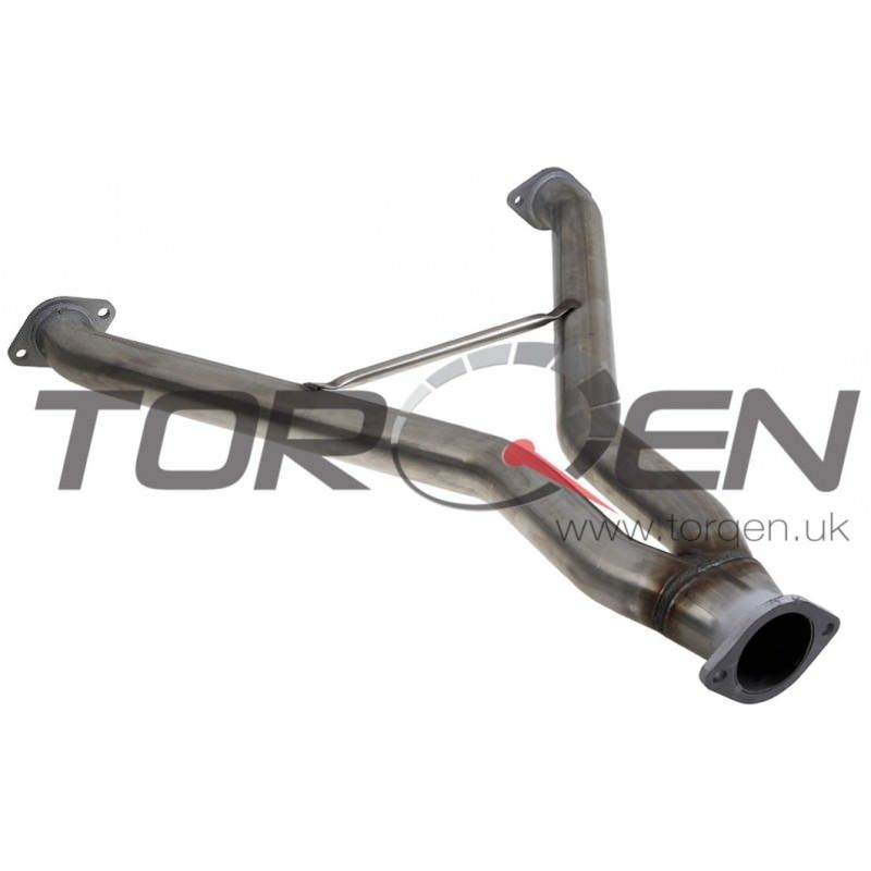 350z Stillen Stainless Steel Y-Pipe