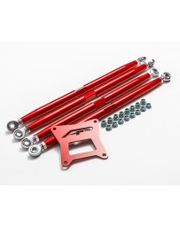 Agency Power Adjustable Rear Radius Arms Red Polaris RZR 1000 RS1 XP Turbo RS1 RS1