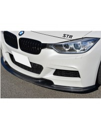 Varis Carbon Fiber Front Spoiler BMW 328d F30 M Sport 12-16